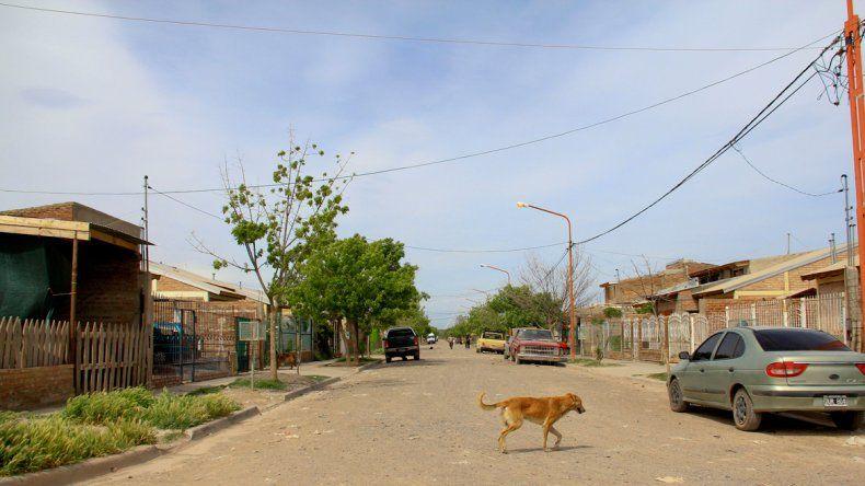 Las calles del barrio Anai Mapu volvieron a ser epicentro de violencia.