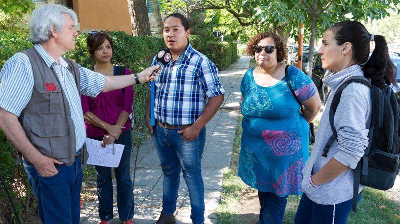 Denuncian que un hombre amenazó a estudiantes durante una movilización