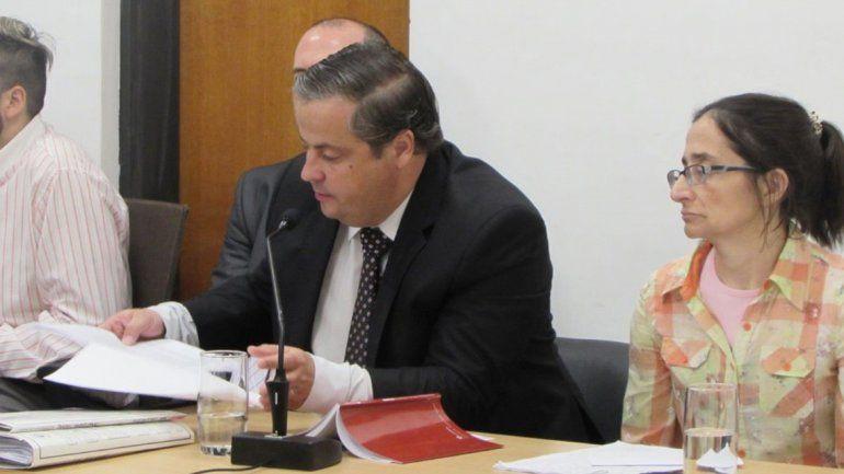 El fiscal Martín Pezzetta estuvo a cargo de la acusación.