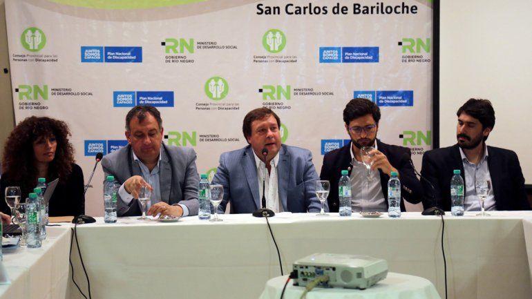 El Congreso Federal sesionará hasta hoy en Bariloche.