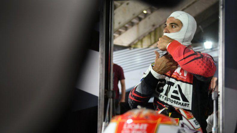 Manu fue el mejor del segundo entrenamiento y 12° en la clasificación.