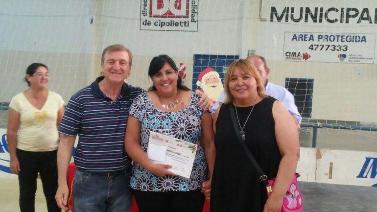 El intendente Tortoriello compartió con los participantes de los talleres.