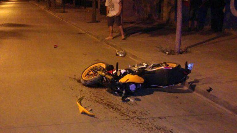 Creen que los jóvenes de la moto escapaban de un control de Tránsito