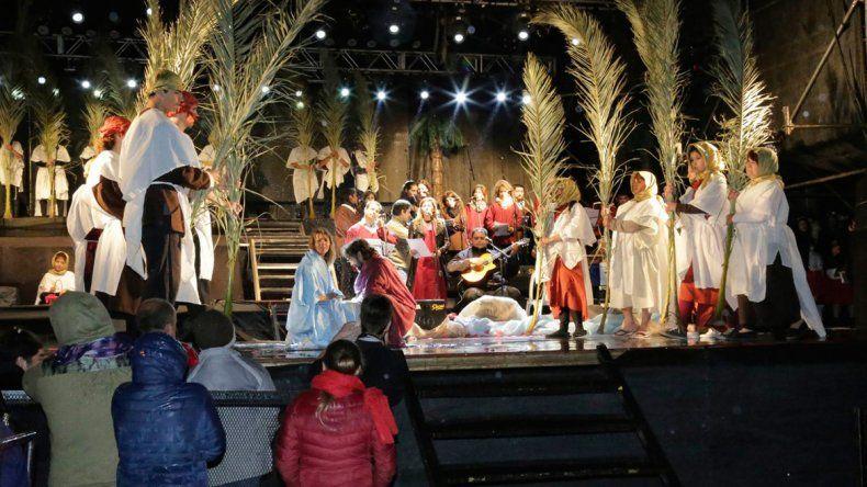 Bariloche tuvo su cantata navideña
