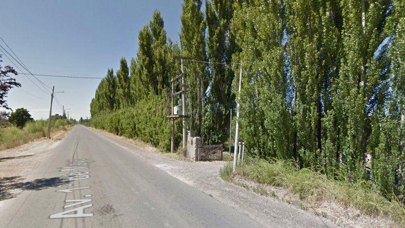 Un nene de 2 años murió aplastado por un tractor en Fernández Oro