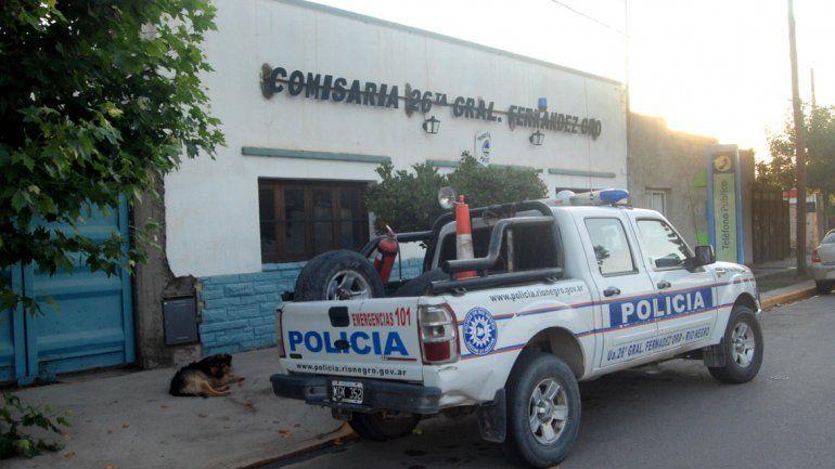El robo fue denunciado por la víctima en la Comisaría 26 de Oro.
