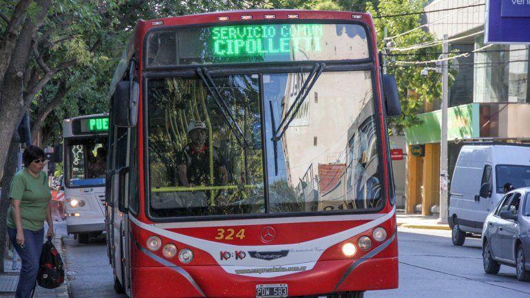 El transporte de pasajeros interurbano sufrió un nuevo aumento.