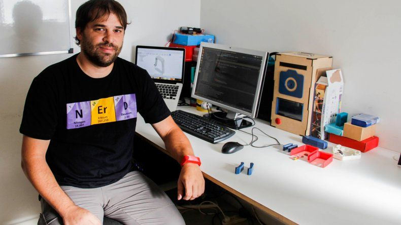 Ricardo Markiewicz espera lanzar pronto la pulsera-despertador. El objetivo es que sea lo más barata posible.
