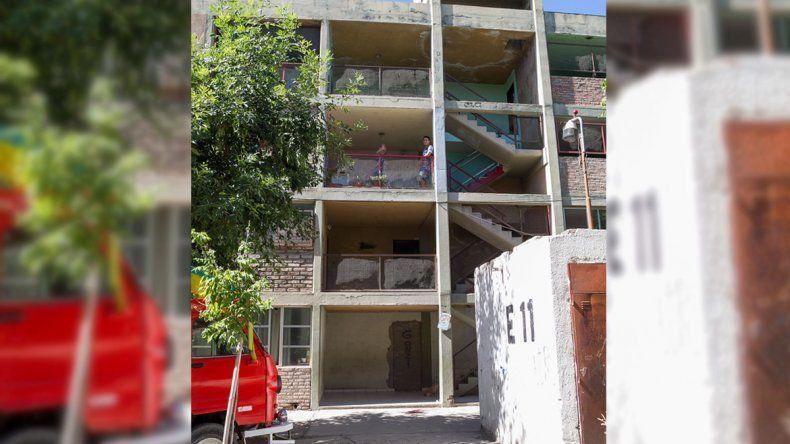 El trágico episodio ocurrió en la entrada 11 del barrio 200 Viviendas.