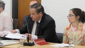 El fiscal Martín Pezzetta durante la audiencia de acusación contra Darío Pucci.