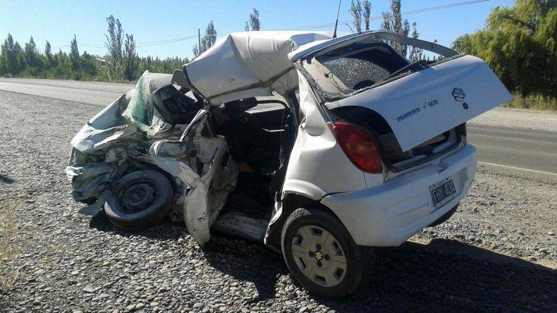 Un joven de 23 años murió en un terrible accidente sobre Ruta 22 en Roca