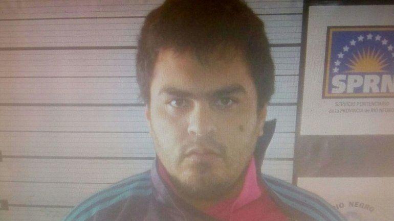 Juan Carlos Aguilar Maza fugado cumplía condena en el Penal 45 de Cipolletti.