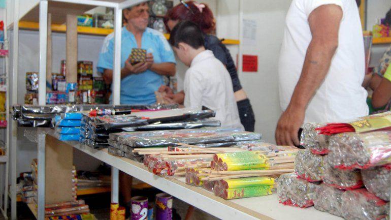 Los comercios cipoleños ya no pueden vender elementos de pirotecnia muy ruidosos.