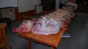 La Policía recuperó los animales que habían conseguido con el engaño.