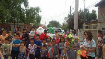 Niños y niñas ya abrieron sus regalos gracias a la solidaridad
