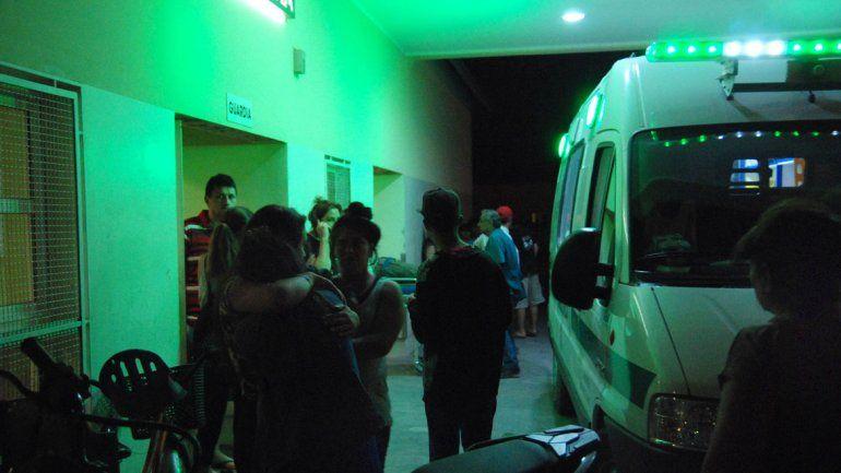La ambulancia del hospital cipoleño tuvo que salir 25 veces en Nochebuena.