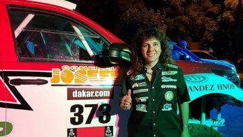 Alicia Reina, del equipo RC Competición, tiene todo listo para viajar a Perú, donde largará su quinta edición del Rally Dakar.