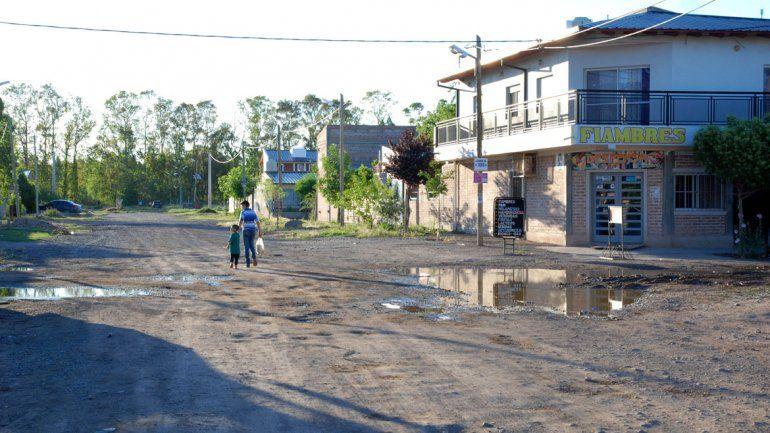 En el asentamiento quieren que se urbanice lo antes posible.
