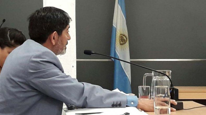 El fiscal Oscar Cid se encargó de la acusación contra el neuquino.