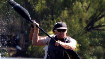 Reibold competirá en el K1 Master B y Cabeza y Domínguez, en Travesía.