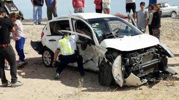 Tragedia: una mujer murió en un choque en Las Grutas