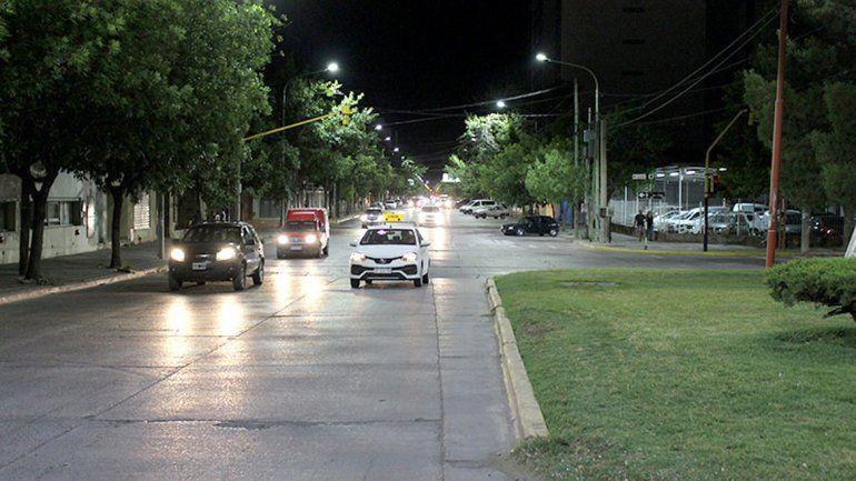 El nuevo sistema se colocó en tramos de la calle Mengelle.