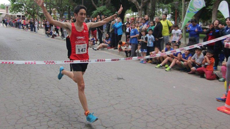 Tony Ruiz de la Escuela Municipal de Atletismo