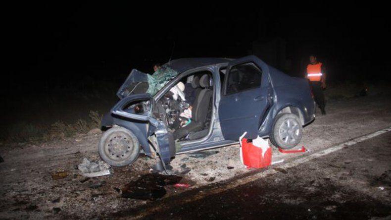 Tragedia en Catriel: un accidente fatal dejó dos muertos y un joven herido de gravedad