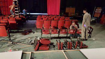 Un famoso denuncia vandalismo en el teatro de Las Grutas