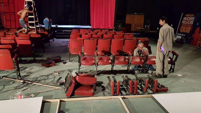 Denuncias y acusaciones de vandalismo en el teatro de Las Grutas