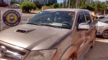 Ayer, la Caminera secuestró una Toyota Hilux por documentación trucha.