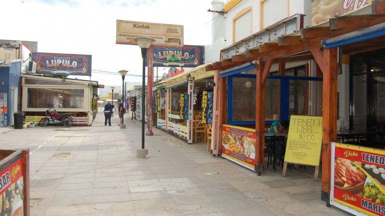 En el balneario rionegrino Las Grutas hay opciones gastronómicas para todos los bolsillos.