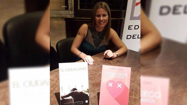 Florencia Ghio volverá a Cipolletti para presentar su segundo libro.