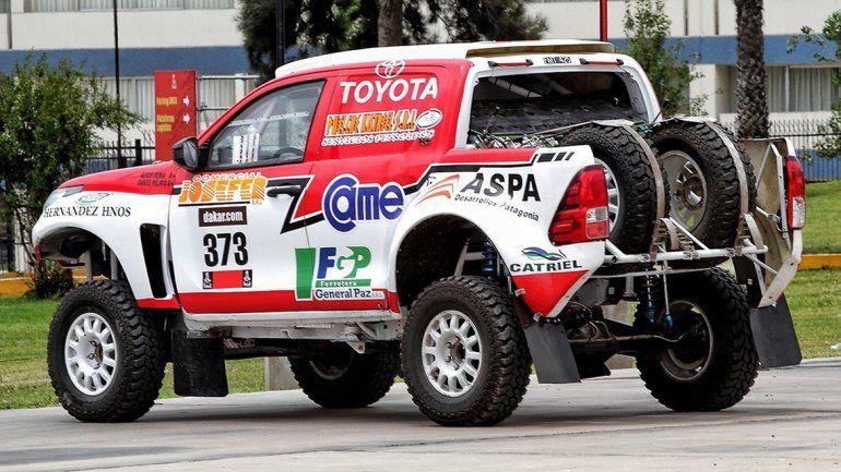 Reina correrá su quinto Dakar