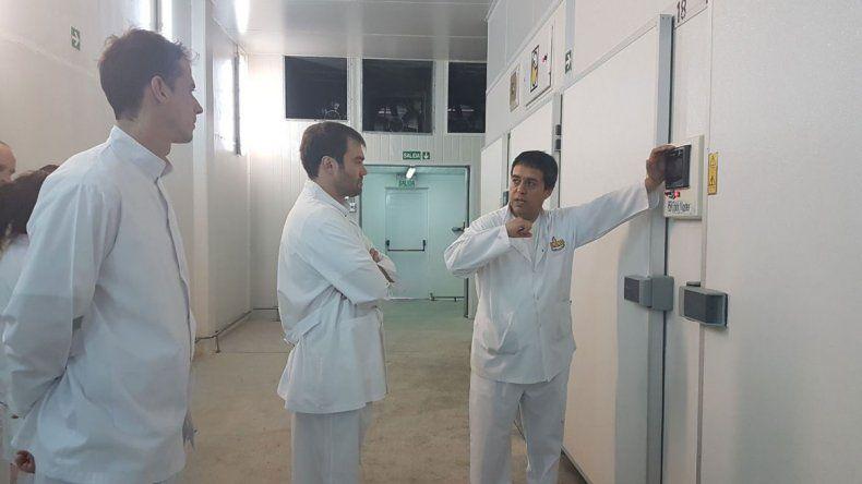 El intendente Lavín destacó el acuerdo y visitó la nueva planta.