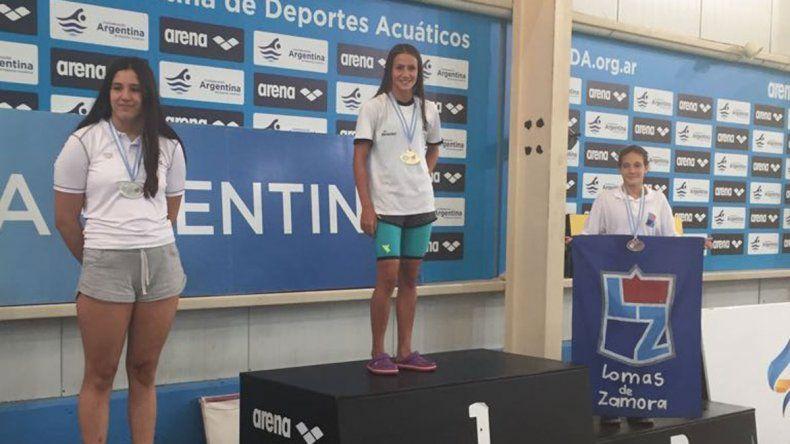 Mora Cantera logró su primera medalla dorada en un Nacional.