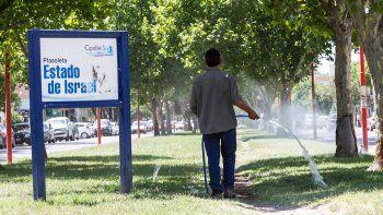Para aquellos que no tengan bombas de pozo, como la Muni, se recomienda evitar el riego excesivo.