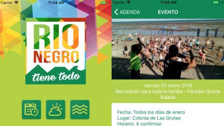 Provincia lanzó su propia aplicación móvil para este verano