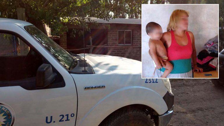 Atraparon a la viuda negra cipoleña: tenía celulares, clonazepam y proyectiles calibre 22