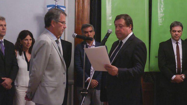 Weretilneck tomó juramento a Crespo, el nuevo Procurador General