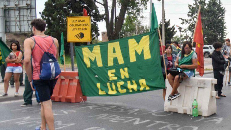 La protesta fue en Neuquén