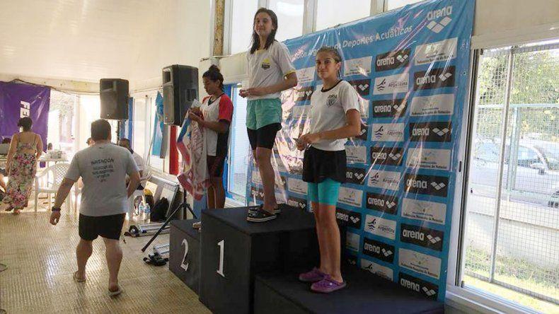 Martina González y la alegría por alcanzar el podio en el Nacional.