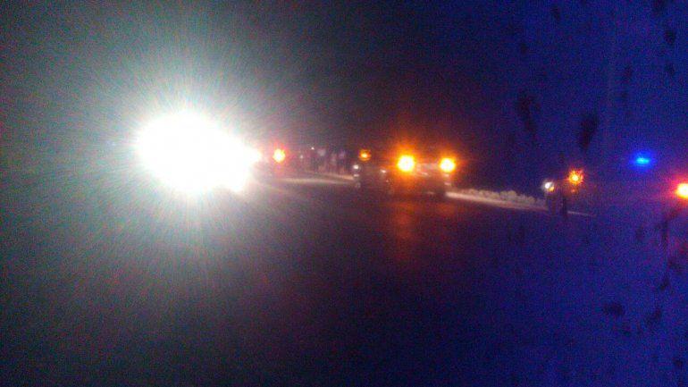 Dos automovilistas chocaron sobre la Ruta 22 y terminaron a los tiros