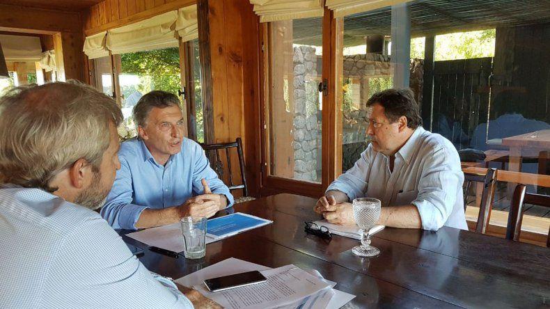 Macri ya le había planteado su preocupación por el déficit a Weretilneck.