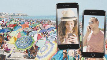 Desde este verano, Las Grutas tiene wifi gratis en la playa.