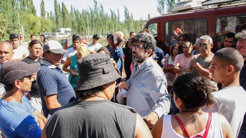 El fiscal Gustavo Herrera tendrá a su cargo la mesa de mediación entre los vecinos y el dueño del terreno.