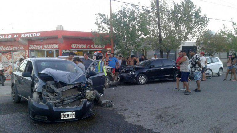Los daños en los vehículos siniestrados fueron muy graves.