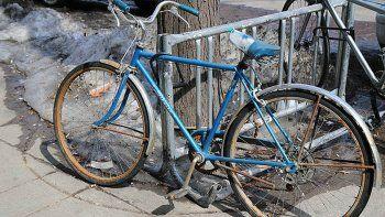 robo una bicicleta, y lo que ocurrio sorprendio a todos