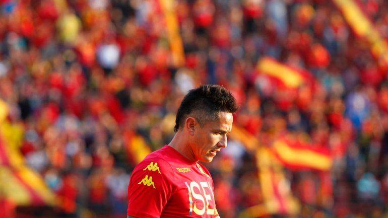 Canales vivió sus mejores momentos en el fútbol trasandino