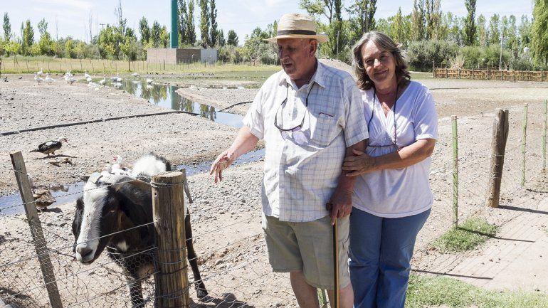 La Chacra, un refugio para los animales maltratados